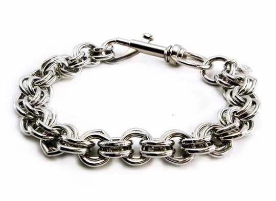 """Amigaz Amigaz Bracelet Double Ring Chain 8""""  - 91-3772"""