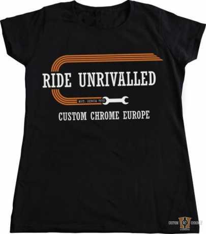Custom Chrome Custom Chrome T-Shirt 1970 Damen schwarz XL - 91-3908