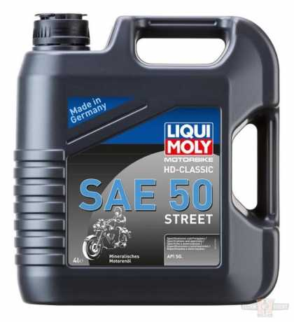 Liqui Moly Engine Oil Motorbike HD-Classic Oil SAE 50 Street
