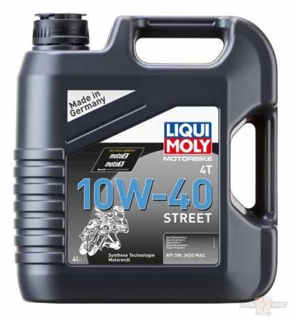 Liqui Moly Liqui Moly Motoröl Motorbike 4T 10W-40 Street  - 91-4557