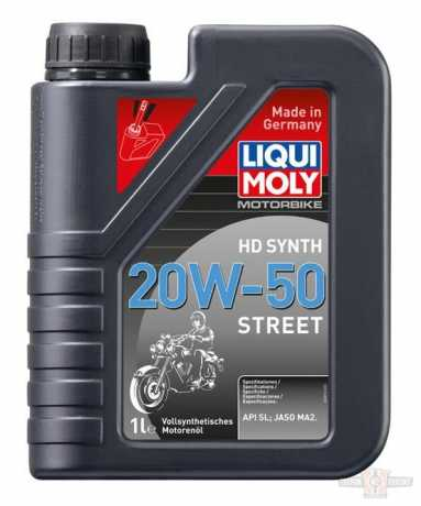 Liqui Moly Liqui Moly Engine Oil Motorbike HD Synth 20W-50 Street  - 91-4567