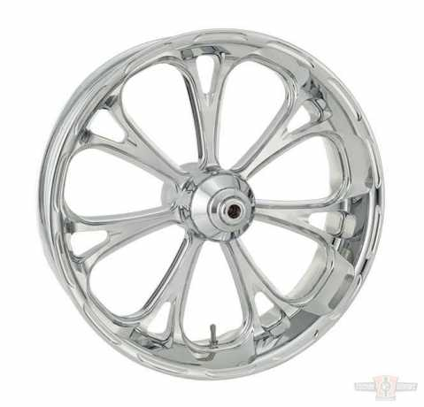 Performance Machine PM Virtue Front Wheel 17 X 3.5  Chrome  - 91-4716