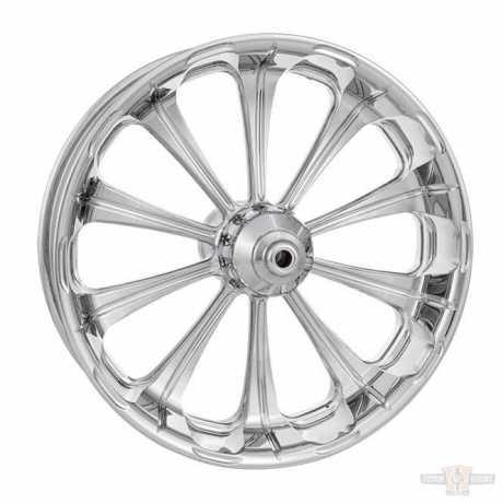 Performance Machine PM Revel Front Wheel 21 X 3.5  Chrome  - 91-4749