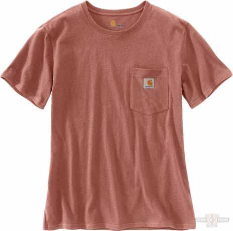 Carhartt Carhartt women T-Shirt Workwear Pocket Burlwood Heather  - 91-4931V