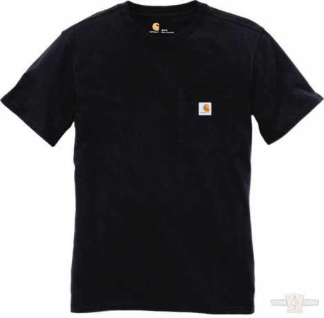 Carhartt Carhartt Women T-Shirt Workwear Pocket Black  - 91-4941V