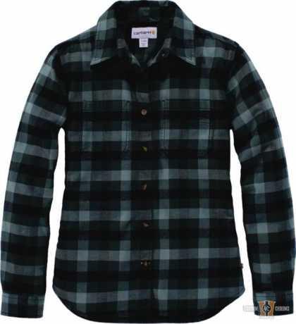 Carhartt Carhartt Damen Hemd Hamilton Flannel Balsam grün  - 91-4996V