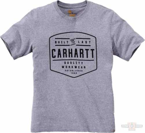 Carhartt Carhartt T-Shirt Workwear Built By Hand Heather Grey  - 91-5054V