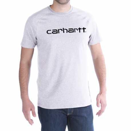 Carhartt Carhartt Force Delmont T-Shirt weiß  - 91-5084V