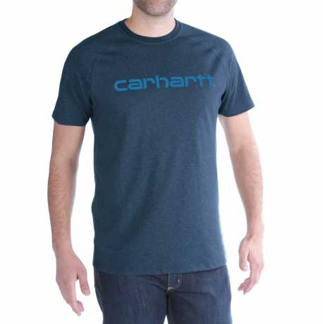 Carhartt Carhartt Force Delmont T-Shirt Light Huron Heather  - 91-5090V