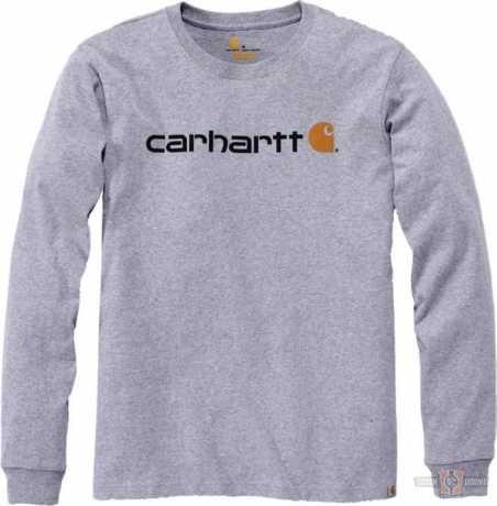 Carhartt Carhartt Longsleeve Workwear Signature Logo grau  - 91-5144V