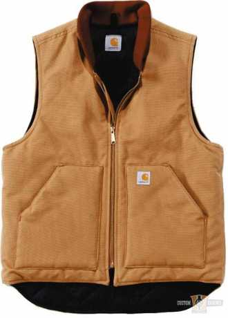 Carhartt Carhartt Duck Vest Actic Quilt Lined Brown  - 91-5399V