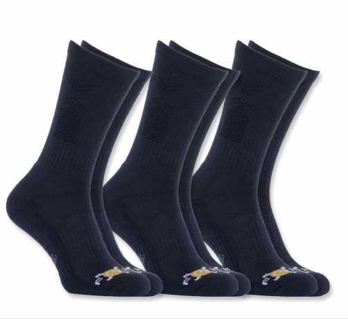 Carhartt Carhartt 37.5® FastDry Socken Navy Blau (3 Pack)  - 91-5531