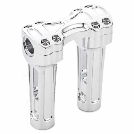 """Arlen Ness Arlen Ness Method Risers 6"""" chrome  - 91-5732"""