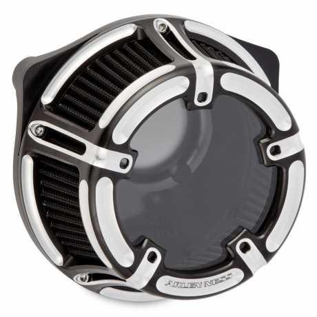 Arlen Ness Arlen Ness Method Clear Luftfilter Contrast Cut  - 91-5777