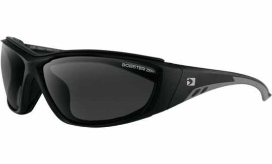 Bobster Bobster Rider Sunglass, Removable foam, Black Matte, Anti-fog, Smoked  - 91-5909