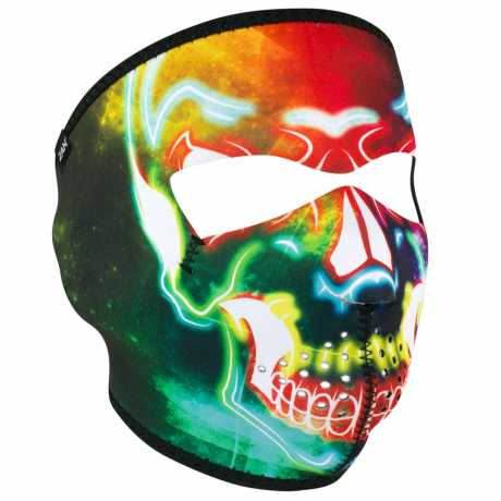 ZANheadgear ZANheadgear Gesichtsmaske Neopren Electric Skull  - 91-5927