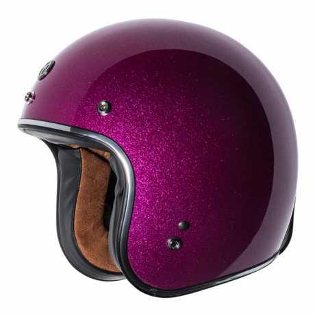Torc Helmets Torc T-50 3/4 Open Face Helmet Bubblegum Mega Flake ECE  - 91-7924V