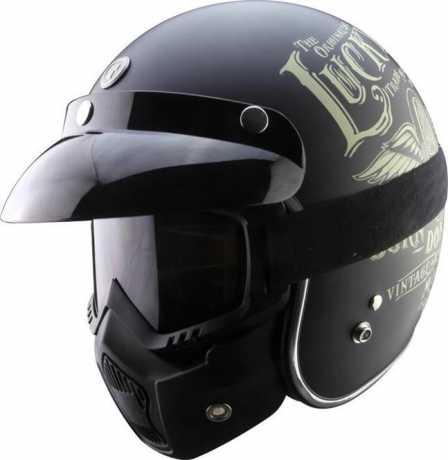 Torc Helmets Torc T-50 Brille & Maske  Anti-Fog , dunkel getönt  - 91-6182