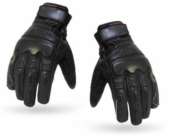 Torc Helmets Torc Gloves Fullerton Black  - 91-6191V