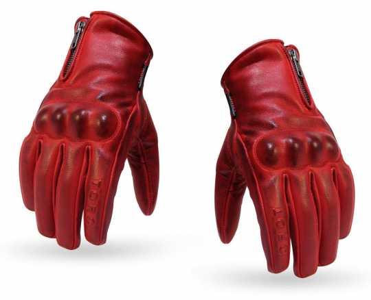 Torc Helmets Torc Gloves Beverly Hills Red M - 91-6221