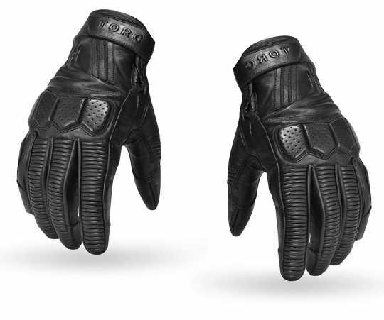 Torc Helmets Torc Gloves Hawthorne Black  - 91-6247V