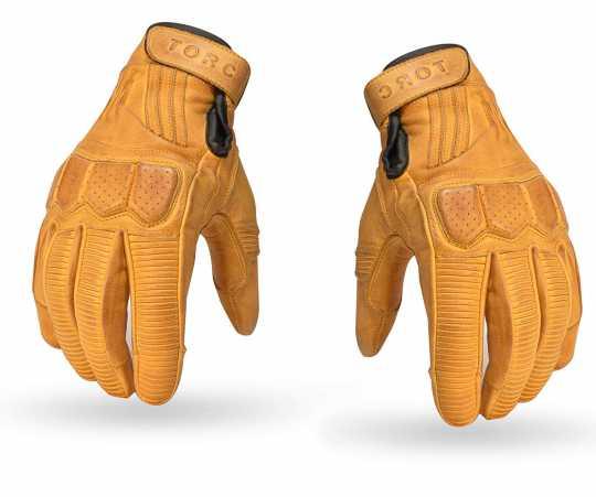 Torc Helmets Torc Gloves Hawthorne Gold  - 91-6254V