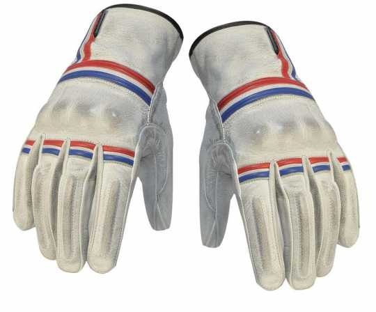Torc Helmets Torc Gloves Americana White  - 91-6275V