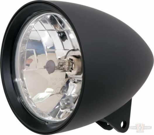 """Highsider Highsider 5 3/4"""" Headlight Billet Classic 1 black  - 91-6912"""