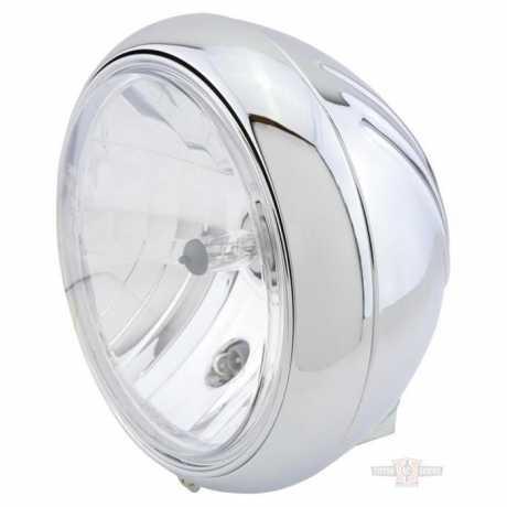 """Shin Yo Shin Yo 7"""" Headlight Yuma 1 chrome  - 91-6928"""