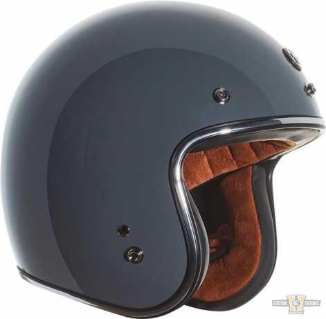Torc Helmets Torc T-50 Open Face Helmet ECE gloss grey  - 91-7499V