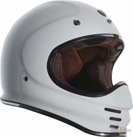 Torc Helmets Torc T-3 Retro MX Helmet ECE white  - 91-7511V