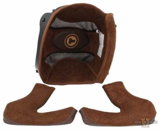 Torc Helmets Torc T-1 Liner Kit, Cheek Pads and Central Padding M - 91-7676