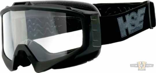 Helly Helly HSE 2305 SportEyes Goggles black & clear lens  - 91-7873