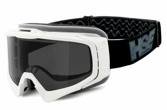 Helly Helly HSE 2305 SportEyes Goggles white & wmoked Lens  - 91-7877
