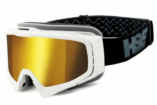 Helly Helly HSE 2305 SportEyes Goggles white & gold Lens  - 91-7878