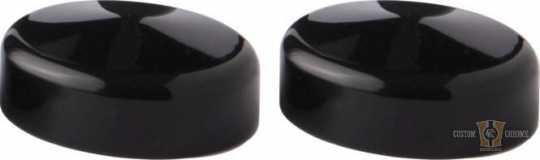 Flywheel Design Flywheel Design Fork Caps Black Gloss  - 91-8061