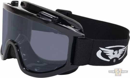 Global Vision Wind Shield Off-Road Goggles smoke  - 91-8209