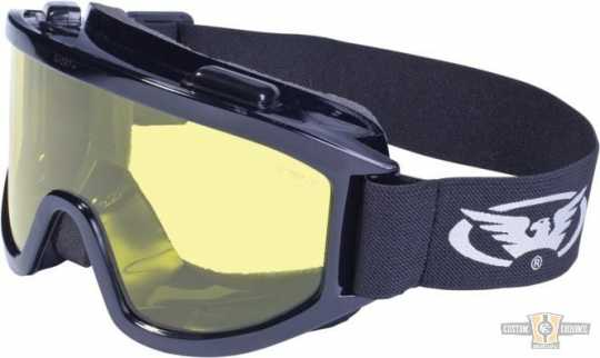 Global Vision Wind Shield Off-Road Goggles gelb  - 91-8210