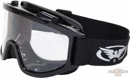 Global Vision Wind Shield Off-Road Goggles klar  - 91-8211