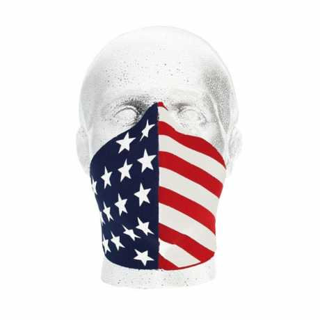 Bandero Bandero Gesichtsmaske 1/2 Patriot  - 910715