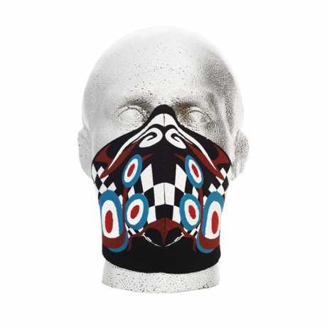 Bandero Bandero Gesichtsmaske 1/2 Pyschedelic  - 910716