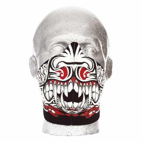 Bandero Bandero Gesichtsmaske 1/2 Warrior  - 910726