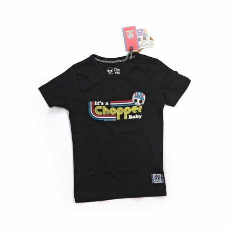 Bobby Bolt Bobby Bolt It's a chopper baby T-shirt schwarz  - 911964V