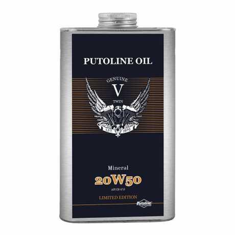 Putoline Putoline Engine Oil V-Twin Mineral 20W50 1 Liter  - 912407