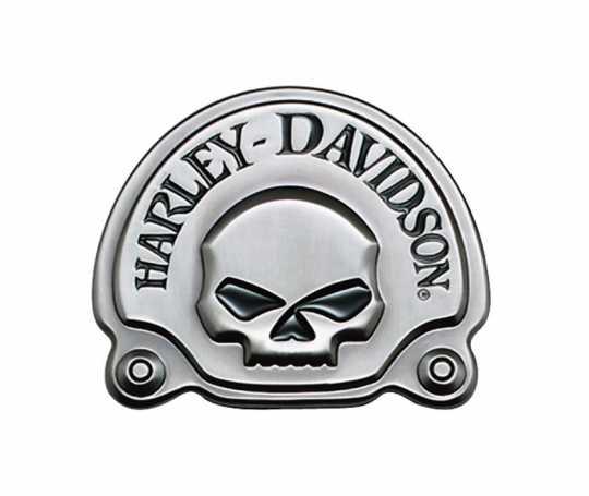 Harley-Davidson Decorative Skull Medallion Antique Nickel  - 91720-02