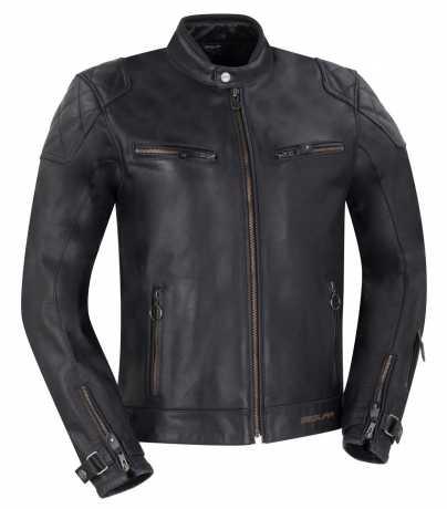 Segura Segura Subotaï Leather Jacket Black, CE  - 917577V
