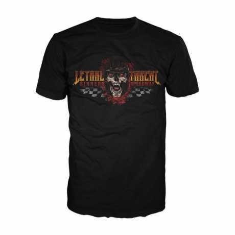 Lethal Threat Lethal Threat Sinners Speedway T-Shirt schwarz  - 920978V
