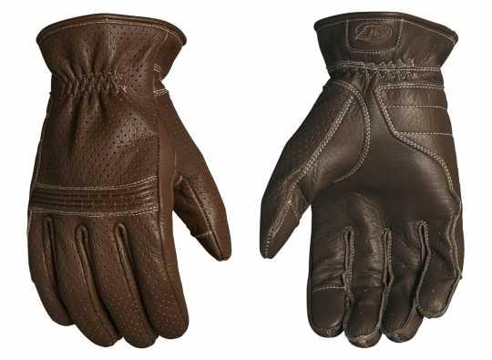Roland Sands Design Roland Sands Wellington Leder Handschuhe Tobacco  - 921970V