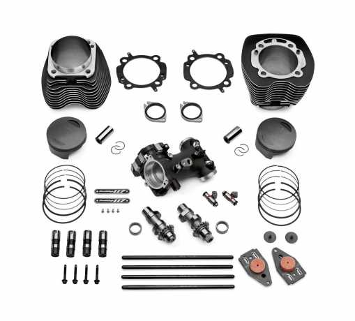 "Harley-Davidson Screamin' Eagle Bolt-On 117"" Kit, schwarz  - 92500054"