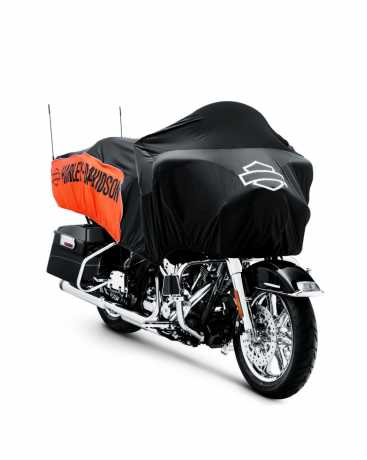 Harley-Davidson Oasis Day Cover orange & black  - 93100028